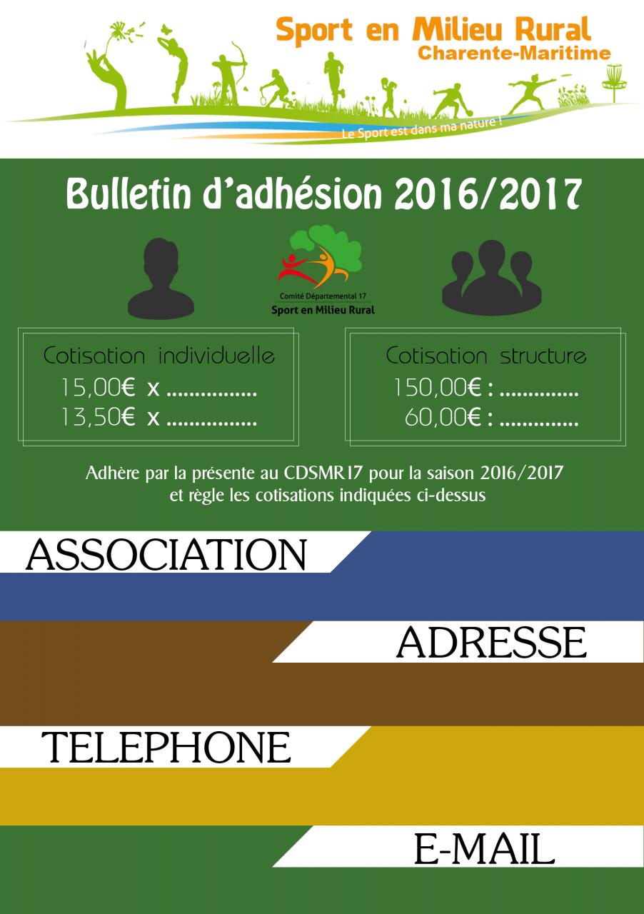 Bulletin-d'adhesion